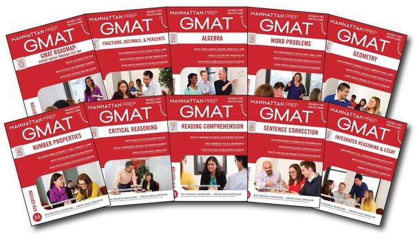 کتاب های آزمون gmat